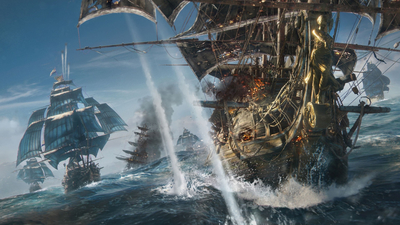 fight, kaizoku, Skull and Bones, sea, crew, ship