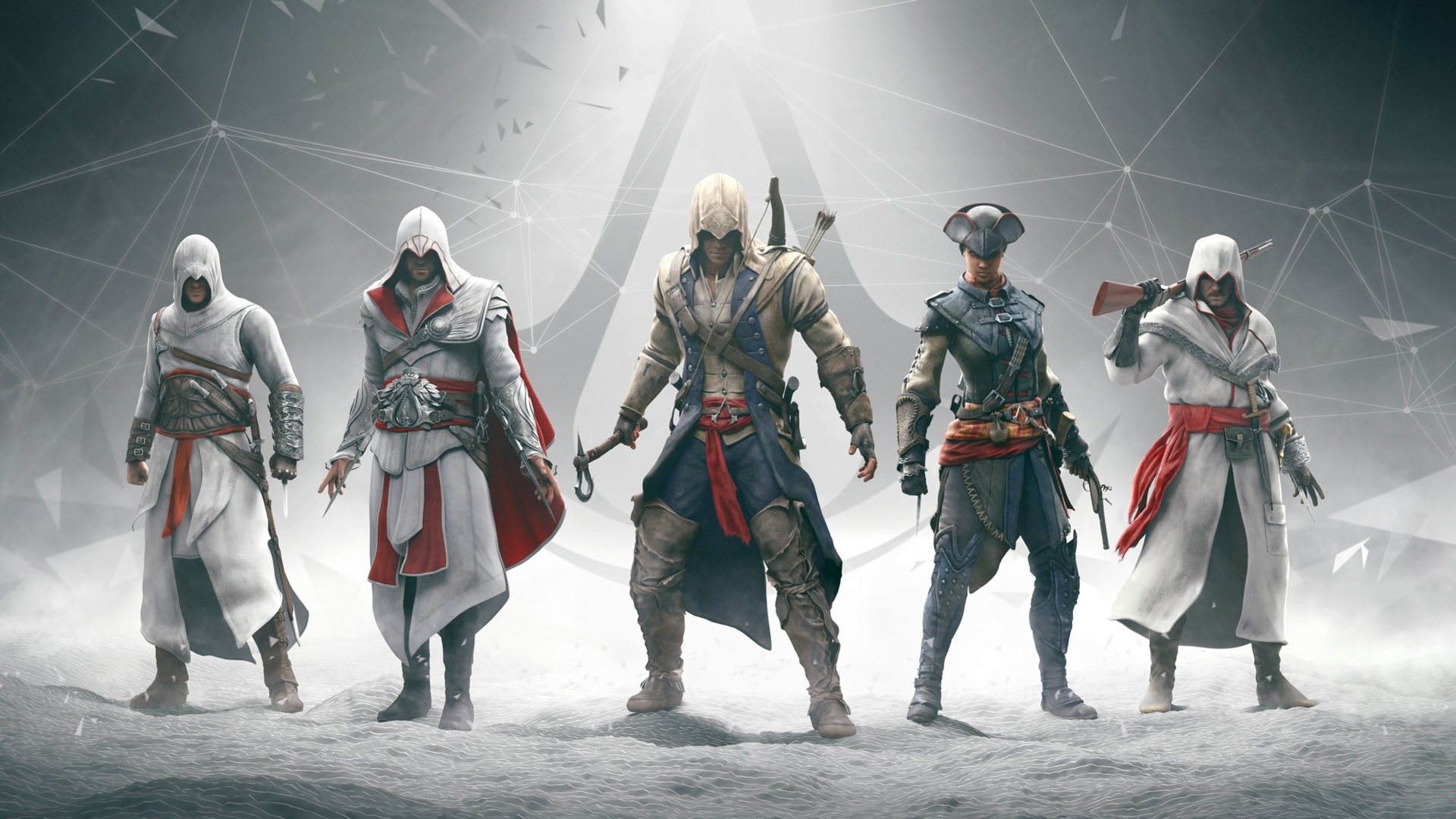 Все герои Assassins Creed
