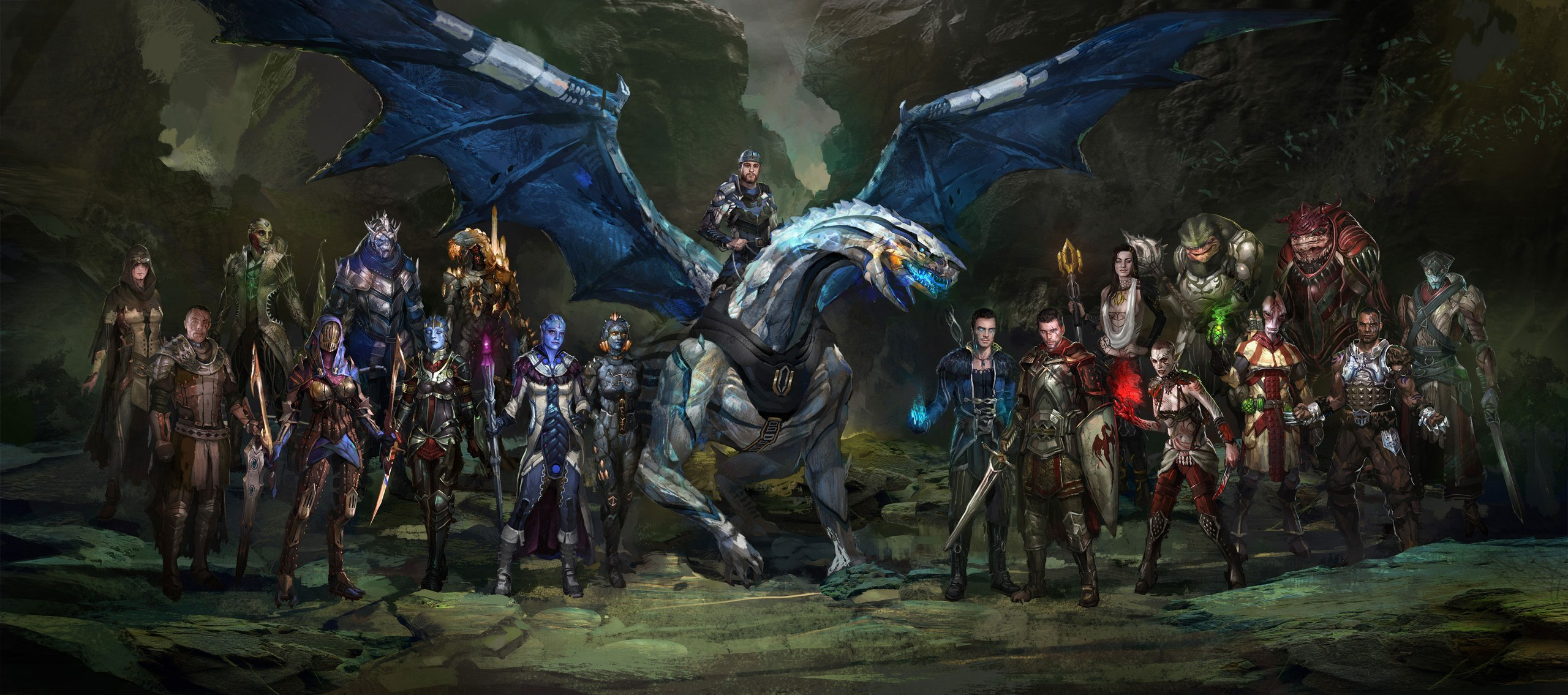 Mass Effect: Fantasy version