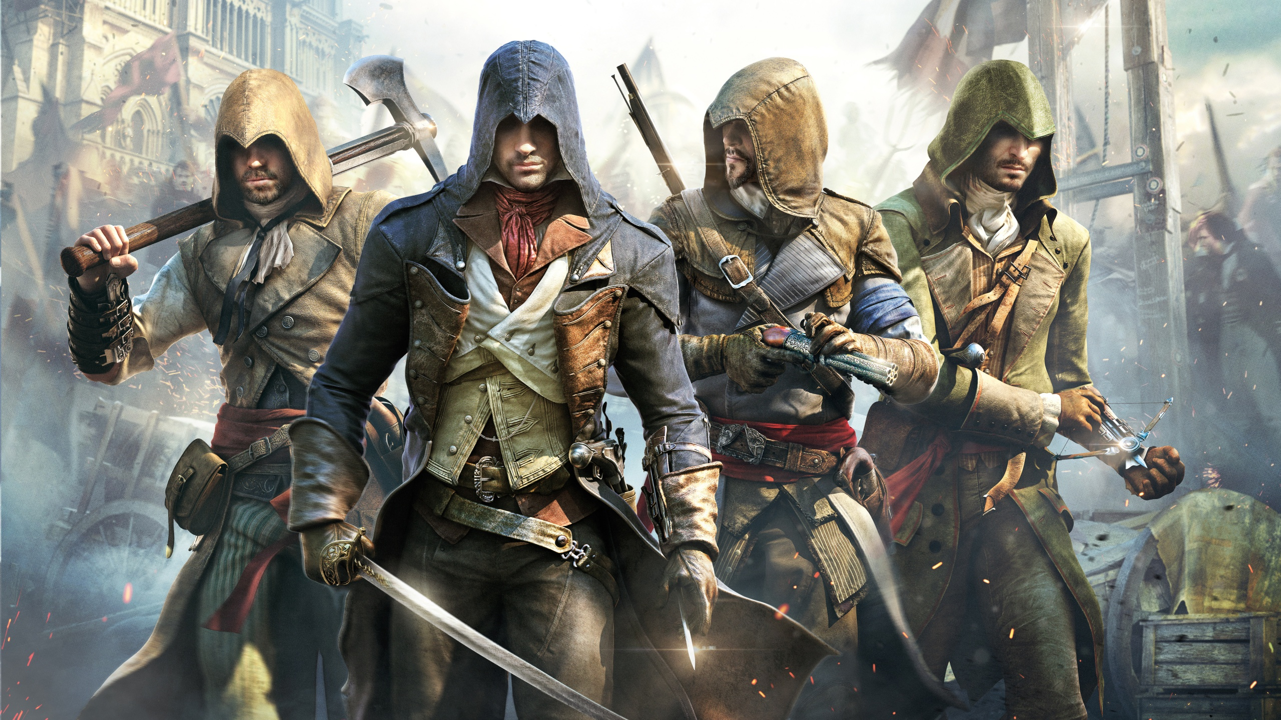 Assassin's Creed Unity Poster