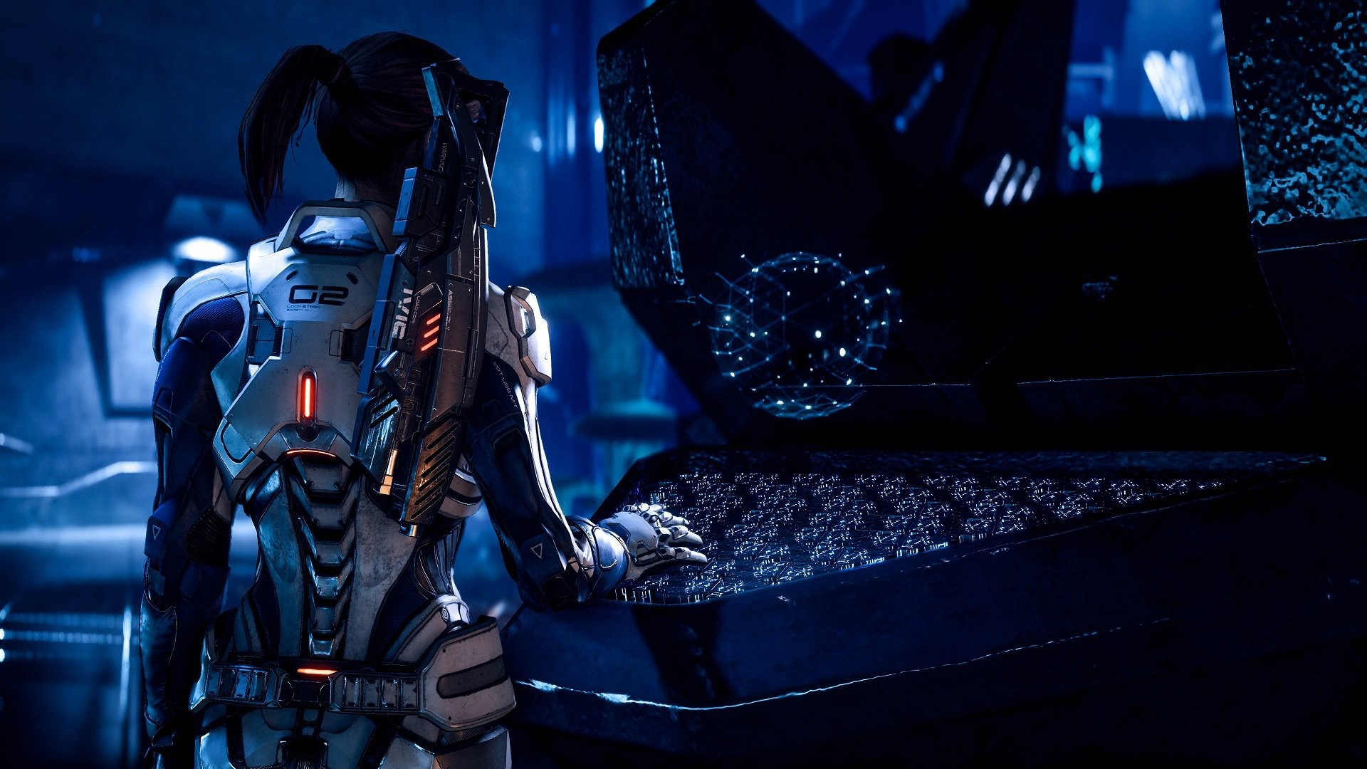 game, suit, Mass Effect: Andromeda