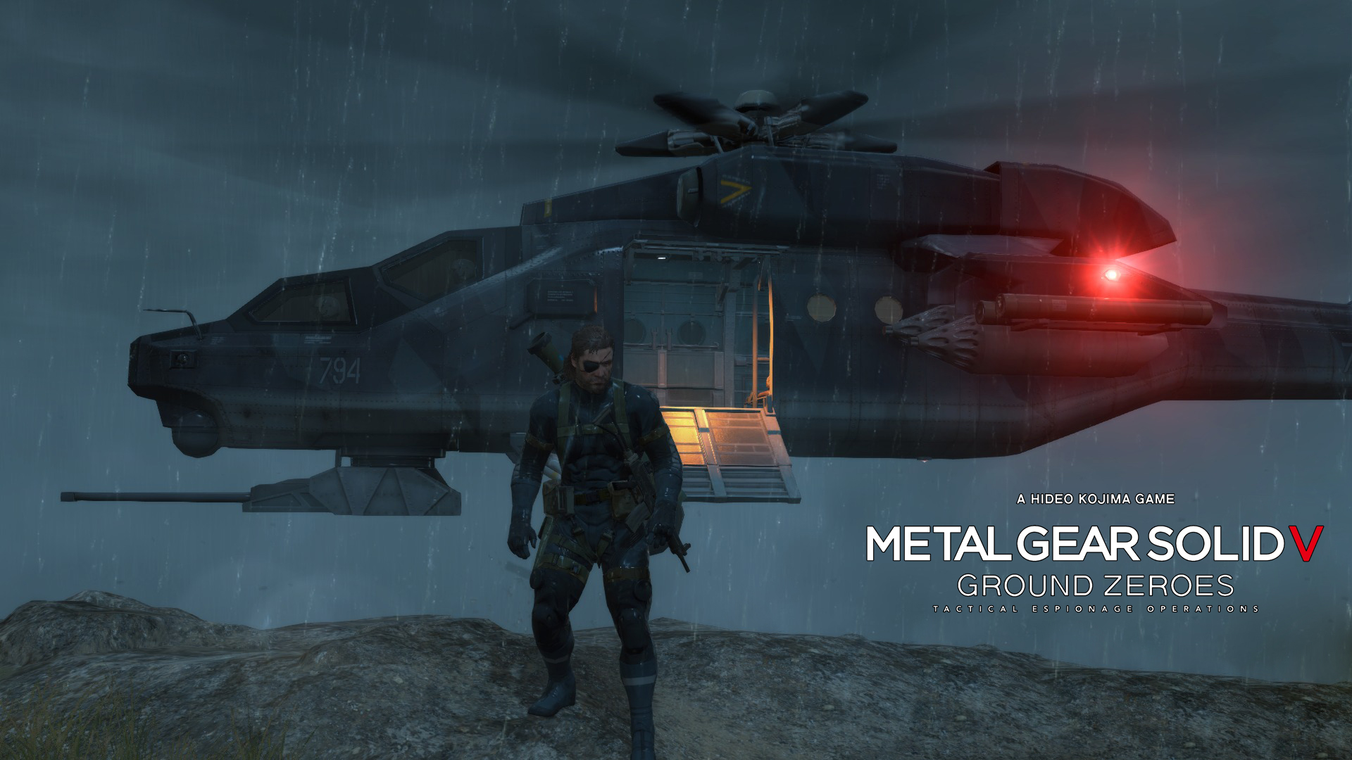 Metal Gear Solid V - Ground Zeroe