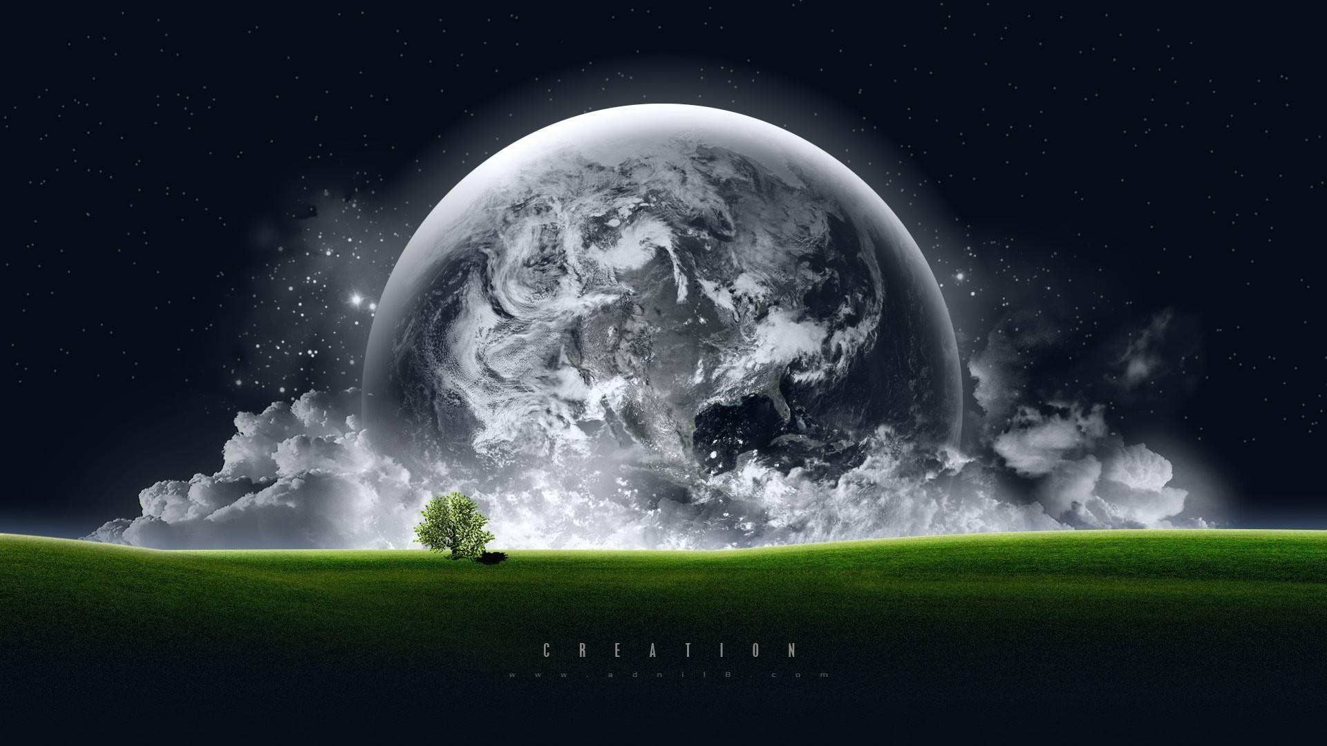 Планета над горизонтом