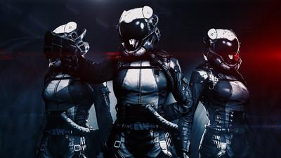 Ciborg girl