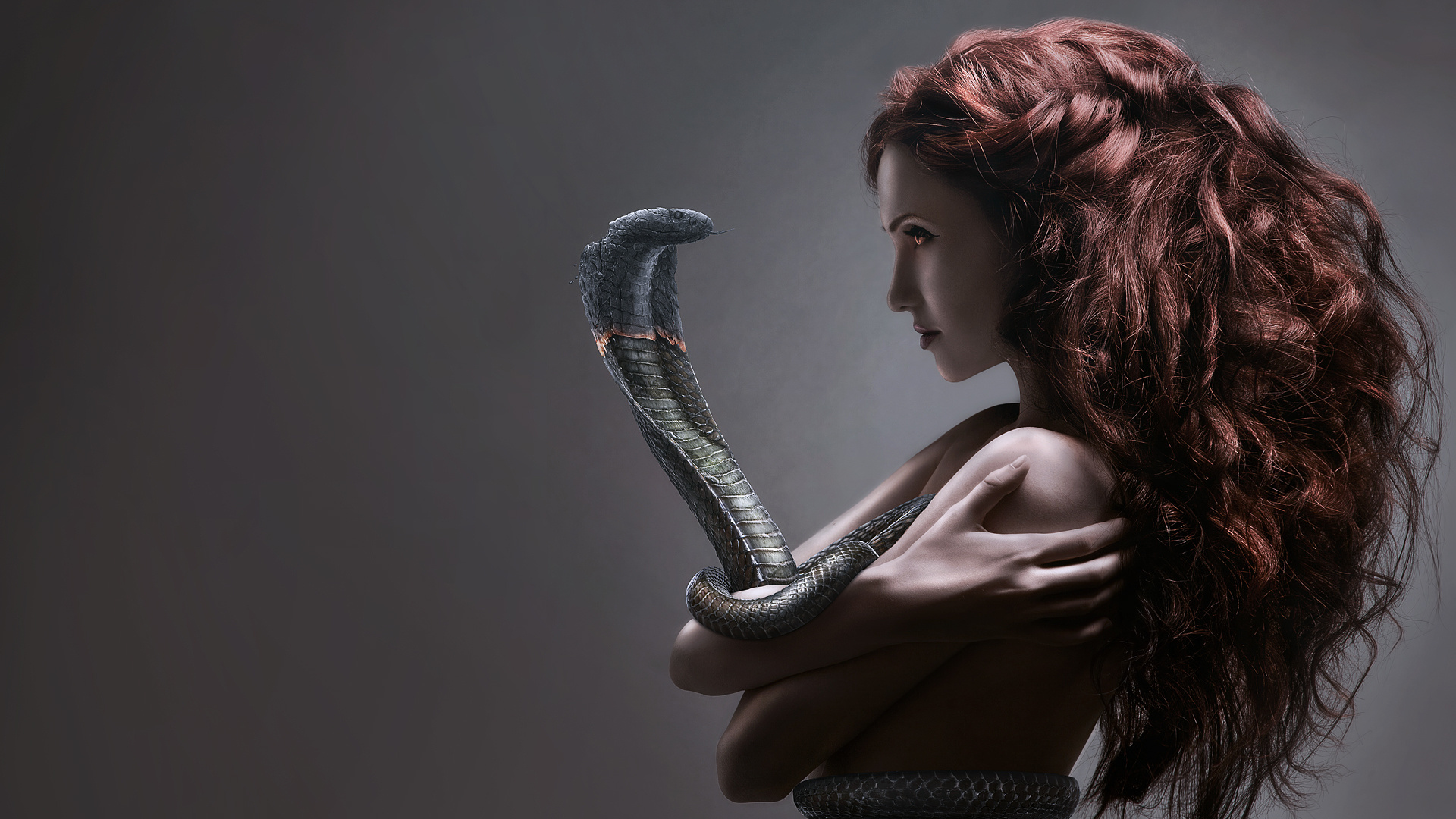 The Girl in the arms of Cobra