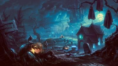 Город хэллоуин