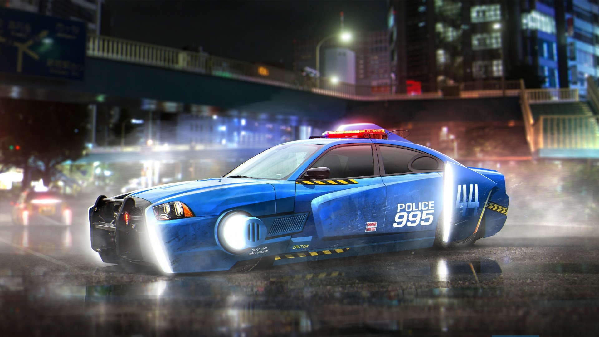 Dodge Charger, police car