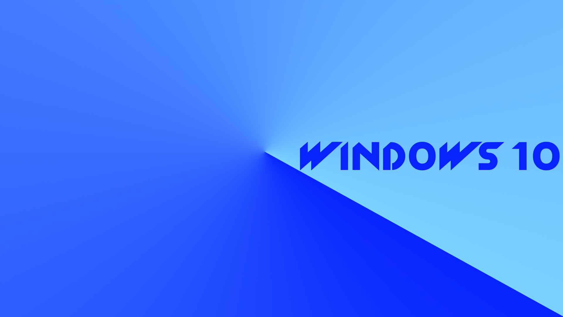 Windows 10 simple blue wallpapers