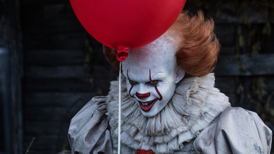 2017, Red, Clown, Bill Skarsgård, It, Pennywise
