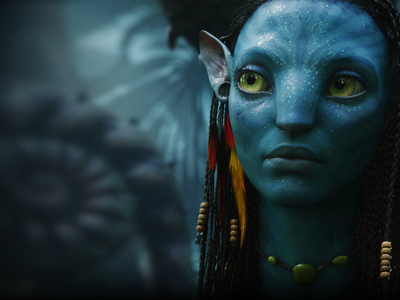 Neytiri from Avatar.