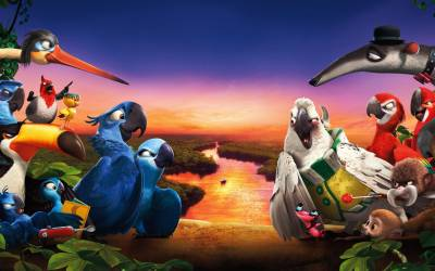 Rio 2 Movie 2014 wide