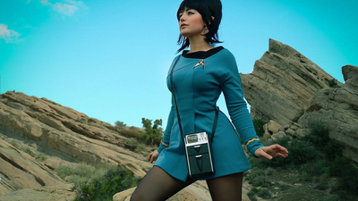 seifuku, Uhura, cosplay, TV series, Star Trek