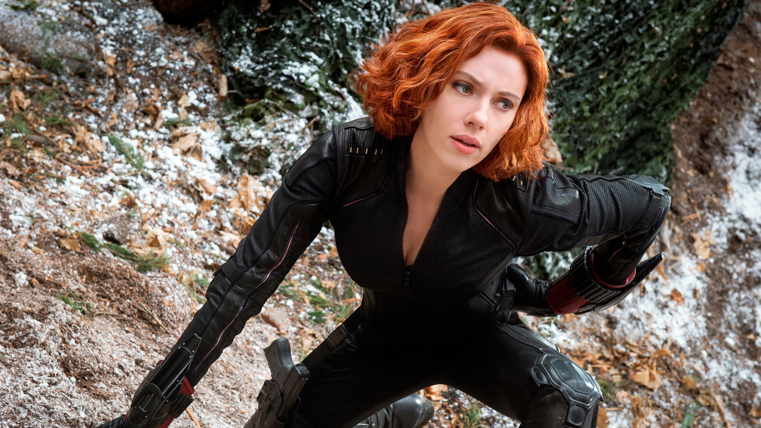 Black Widow in The Avengers 2