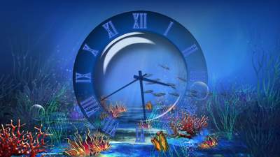 Aquatic Clock