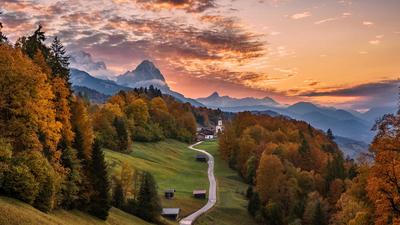 Баварский закат