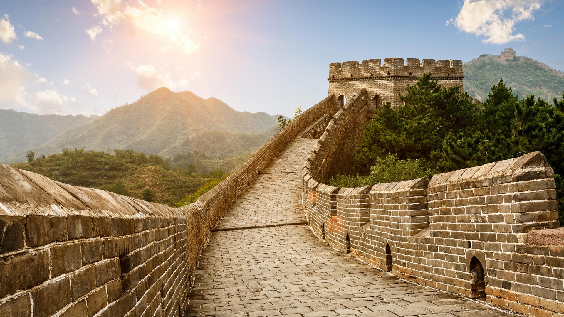 Великая Китайская стена. Длина (протяженность). Кто
