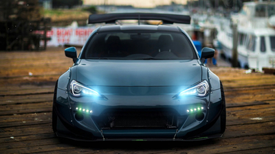 GT86 Lights Audio Visualizer