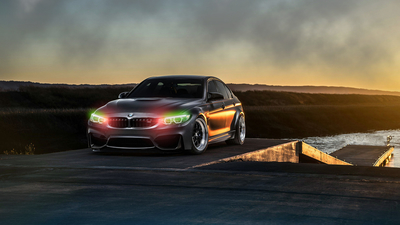 BMW Lights Audio Visualizer