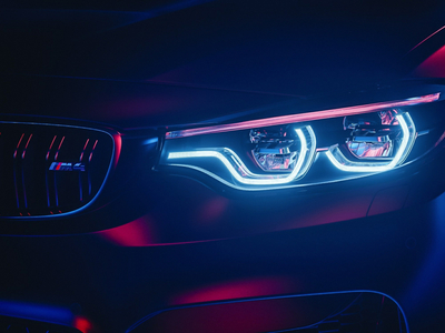 BMW M4 Headlight