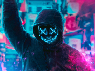 Neon Masked Guy