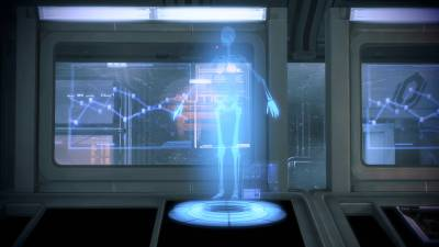 Mass Effect 3 - The Skeleton Hologram 1920x1080, Игры