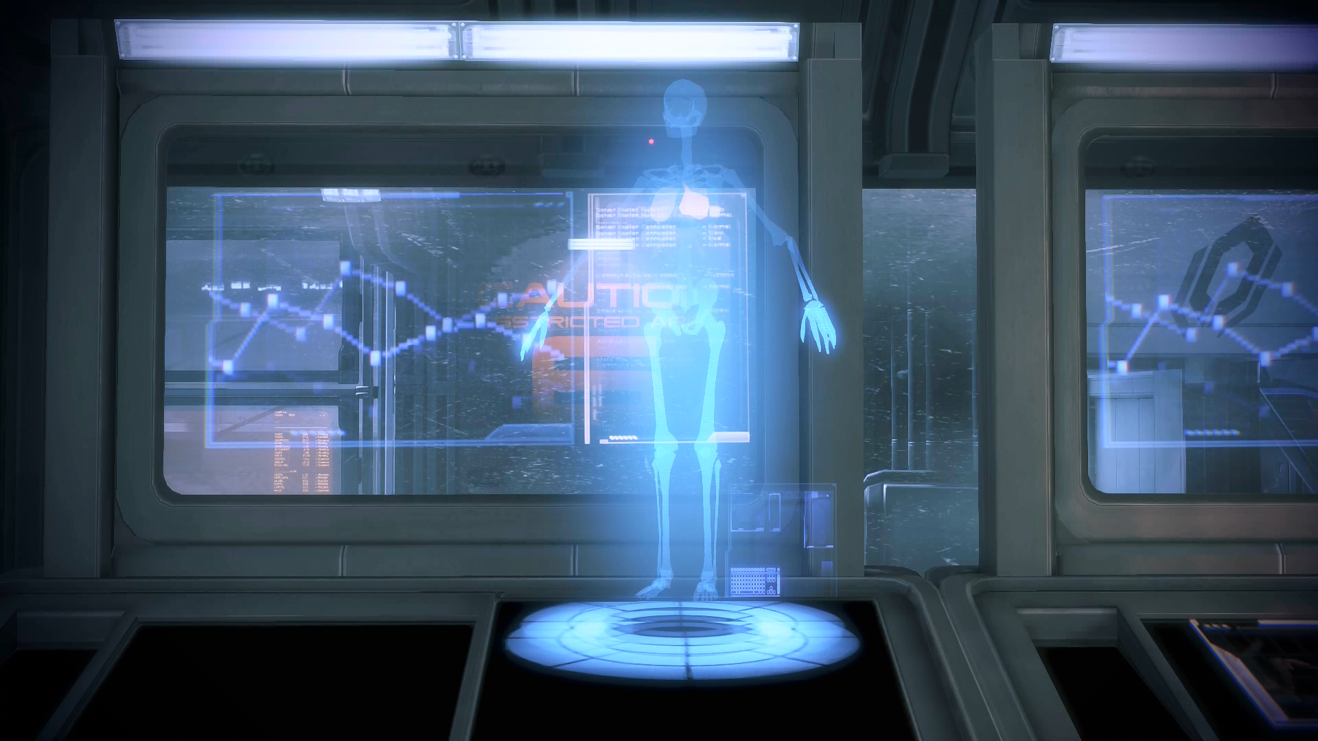 Mass Effect 3 - The Skeleton Hologram