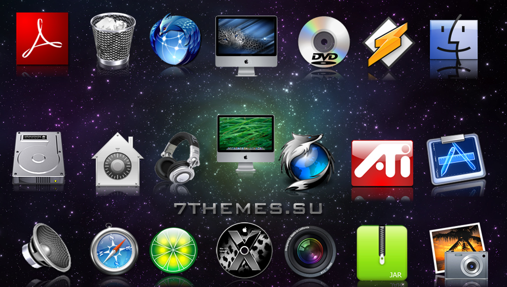 Mac OSX Dock Icons