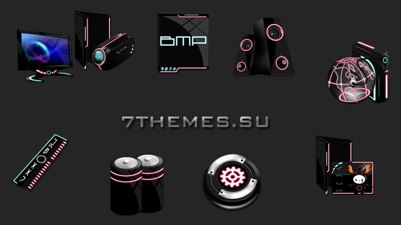иконки для iconpackager:
