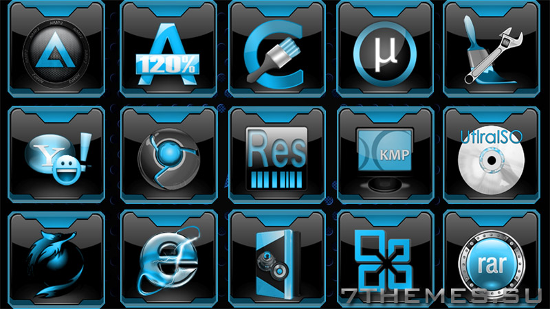 Event Horizon - Dock Icons