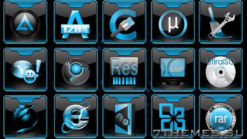 где иконки в windows 7: