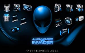 AlienWare Invader Blue