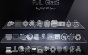 FuLL GlaSS IcoN SeT