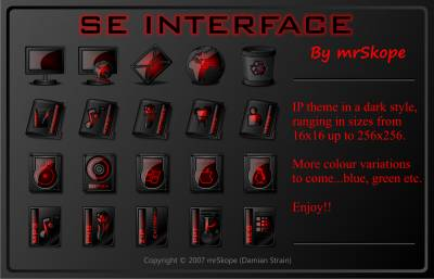 SE Interface Red