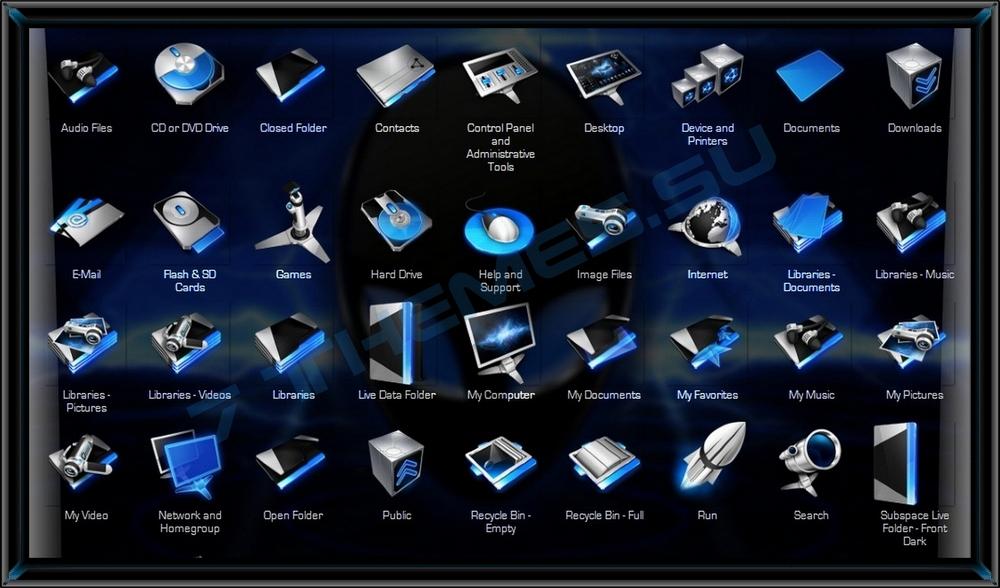 Пакеты Иконок Для 7tsp Gui Скачать Oformi Net