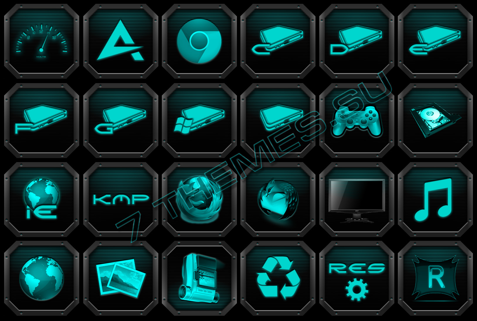 TX3 Icons