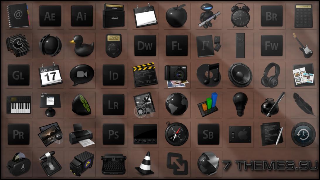 красивые иконки для windows 7: