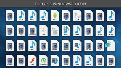 Windows 10 Filetypes