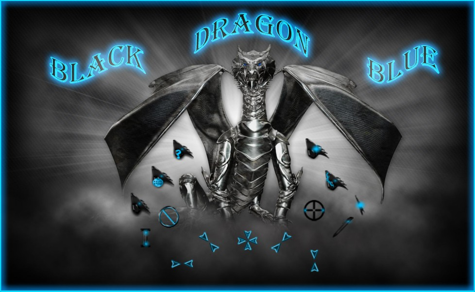 Black Dragon Blue