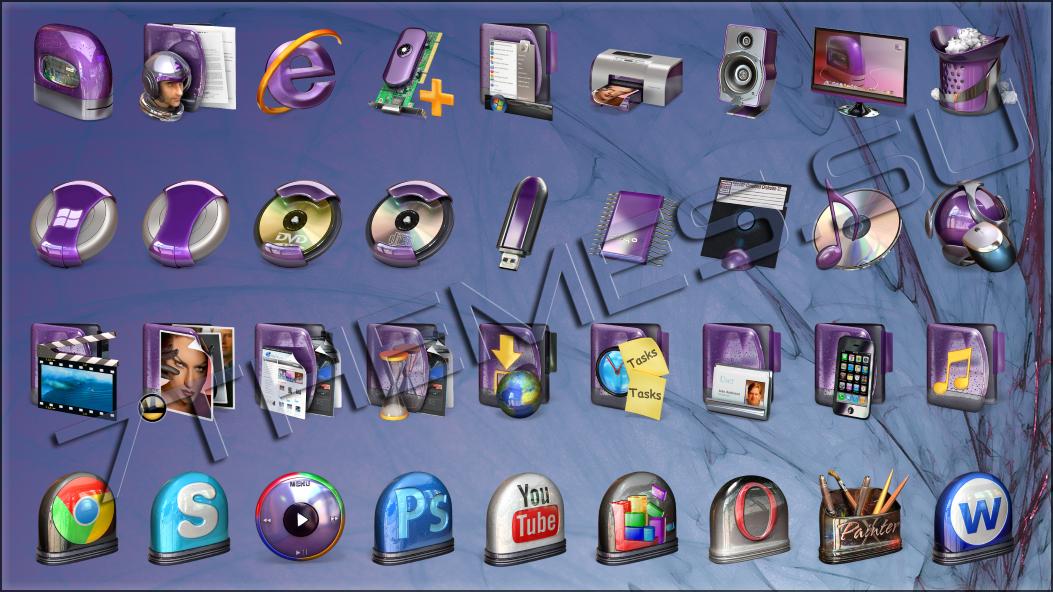Пакеты Иконок Для 7tsp Gui Скачать