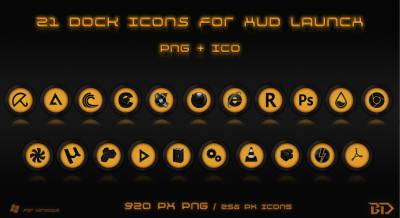 Dock Icons for HUD