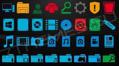 Metro Icon Pack