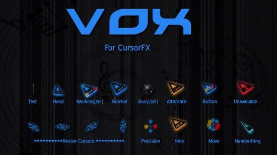 Курсоры для программы CursorFX