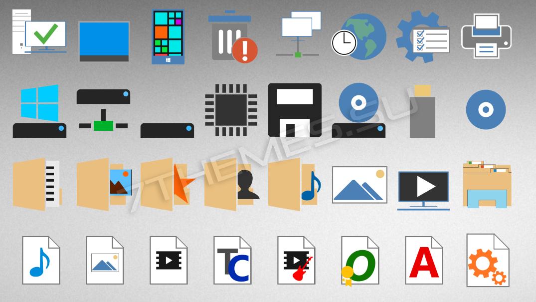 Пакеты Иконок Для 7Tsp
