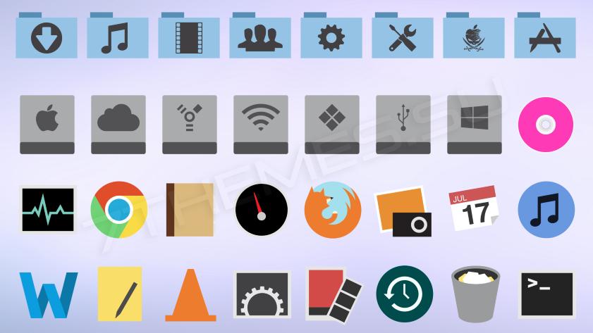 Minimalism MAC OS X