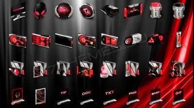 Invader Red