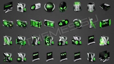 Invader Green