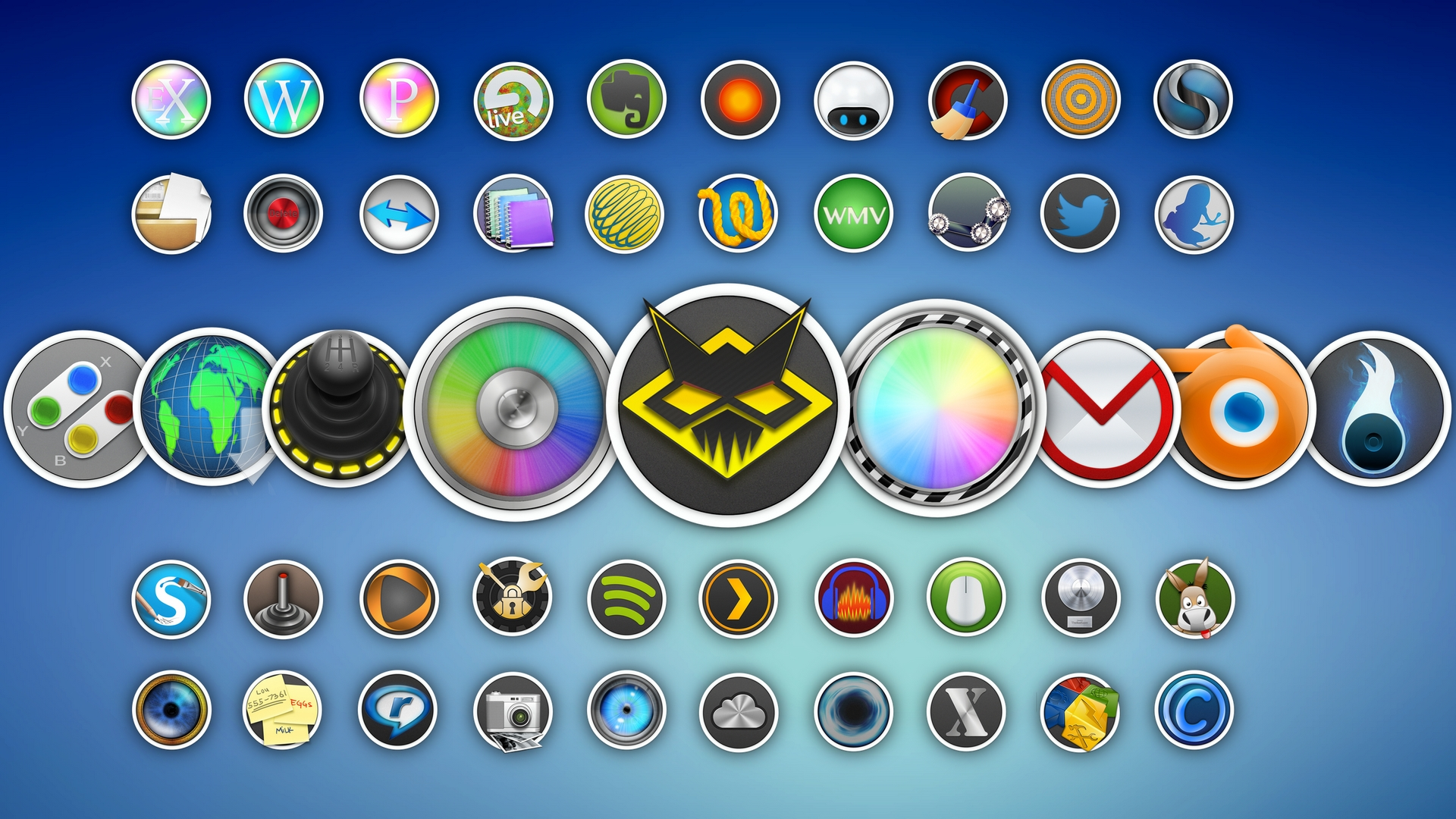 иконки mac os для windows: