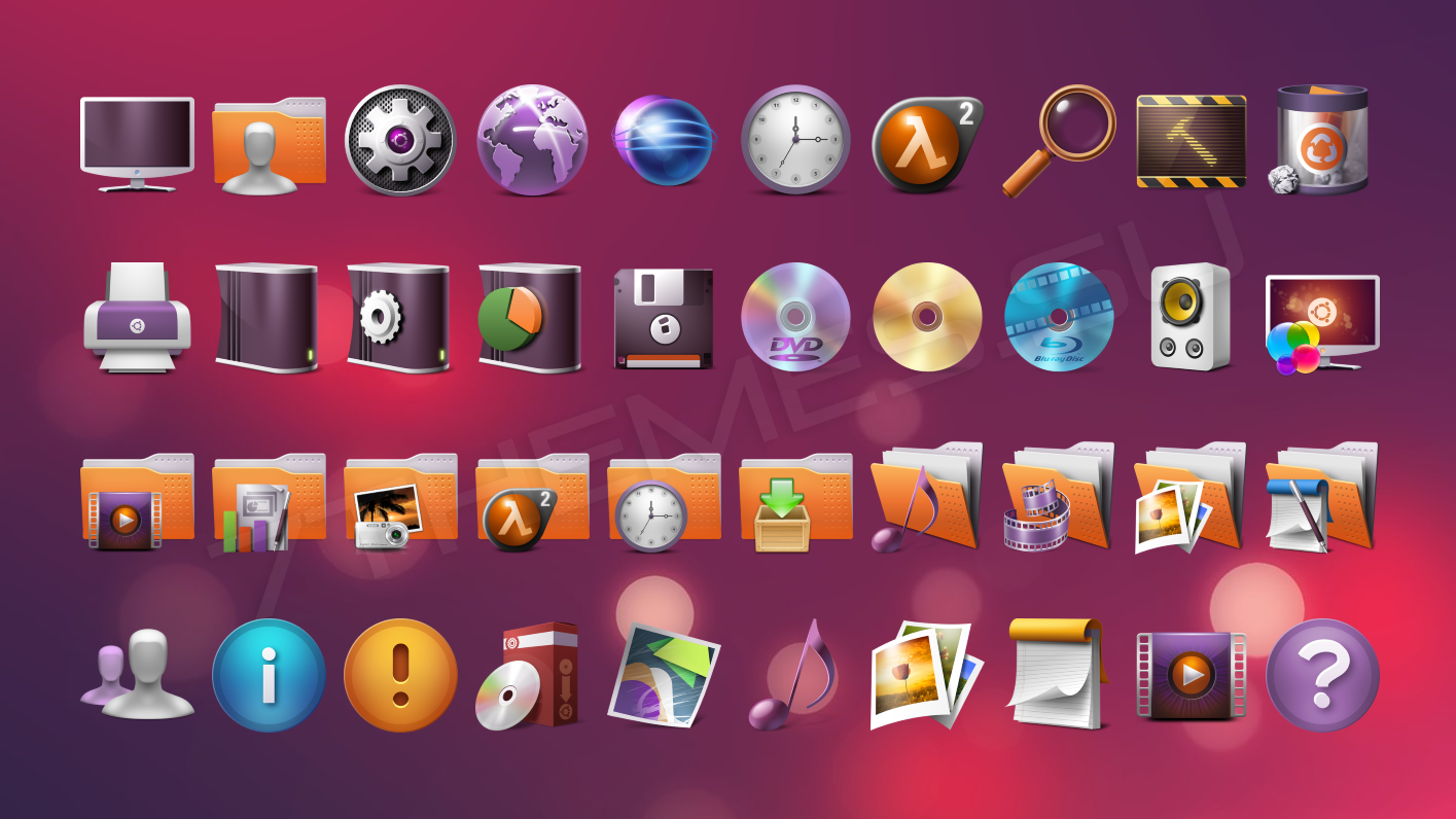 FS Ubuntu - 7tsp пакет иконок: 7themes.su/stuff/ikons_for_windows/7tsp_iconpacks/fs_ubuntu/4-1-0-572