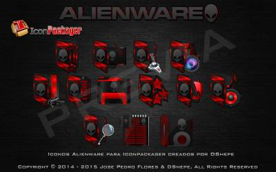 Alienware Red by MrDShepe