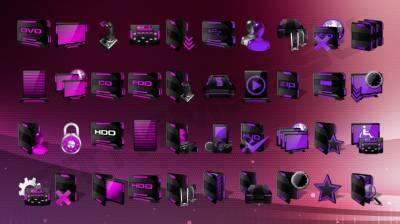 HUD Machine Purple and Pink